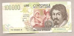 Italia - Banconota Circolata Da 100.000 Lire P-1179b - 1995 - [ 2] 1946-… : Repubblica