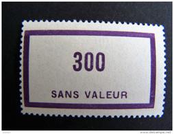 FICTIFS NEUF ** N°F 93 SANS CHARNIERE (FICTIF F93) - Fictifs