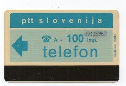Ptt Slovenija - Telefon -  100 Imp. - PBS - Slovénie