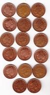 MONNAIE Grande-Bretagne - Lot De 17 Pièces De 1 PENNY De 1998 à 2005 - 1971-… : Monnaies Décimales