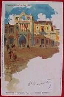 Cpa  EXPOSITION UNIVERSELLE De PARIS 1900 , ANDALOUSIE AU TEMPS DES MAURES, VILLAGE ESPAGNOL EARLY PC - Expositions
