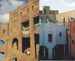 MIRAMAS : LE NOUVEAU LYCEE THEATRE.2 CLICHES .T.RARE. 1987. N.CIRCULEE. ETAT PARFAIT.PETIT PRIX. - Autres Communes