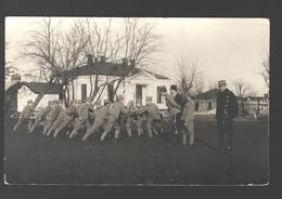 Militaire Oefeningen / Exercices Militaires - Carte Photo Originale / Originele Fotokaart / Original Photo Card - Caserme