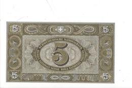 21567 - 5.00 CHF 2e Série 28.03.1952 N° 096693 Série 53X  Signature KE NEUF - Switzerland