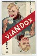 VIANDOX -CARNET DE  NOTATION JEU DE BELOTE - Publicités