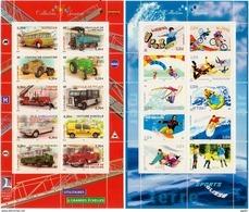 2003/04  Feuillets  N° 63 Et 76  Neufs** (faciale: 5.00€) - Neufs
