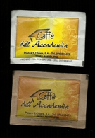 2 Bustine Zucchero Bianco E Grezzo Italia - Caffè Dell' Accademia - Zucchero (bustine)