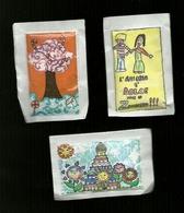 3 Bustine Zucchero Italia - Disegni - Zucchero (bustine)