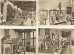 Bruxelles Musée Communal Maison Du Roi ( Lot De 6 Cartes ) - Musea