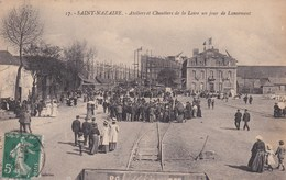 SAINT-NAZAIRE - Ateliers Et Chantiers De La Loire Un Jour De Lancement - Ships