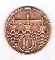 10 HALLER 1937  TSJECHOSLOWAKIJE /2047// - Tchécoslovaquie