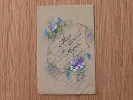 Celluloide Peinte Et Dorure - Cartes Postales