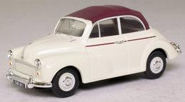 Morris Minor Convertible: Cream & Maroon. - PKW & Vierräder