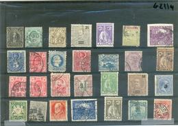 Petit Lot De Timbres Anciens 28 Timbres Différents. - Lots & Kiloware (mixtures) - Max. 999 Stamps