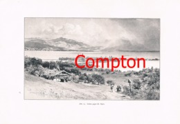 313 E.T.Compton Paul Hey Bodensee Lindau Artikel Mit 4 Bildern 1896 !! - Revues & Journaux