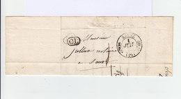 Sur LAC D'Avignon Pour Sauve Grand CAD Sauve 29 1832. Griffe CL Correspondance Locale. (1196x) - 1801-1848: Précurseurs XIX