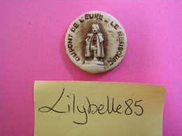 Feve Ancienne Artisanale STATUE DUPONT DE L' EURE - Série LE NEUBOURG - MIDGARD 1998 ( Feves Figurine Miniature ) - Regionen