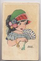 Illustrateur Edmond SORNEIN - Femme à L'éventail - Bracelet Nombre 13 - Illustrateurs & Photographes