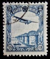 1937 Mandchourie Yt  PA4, Mi 93, Sak 100 . Aircraft Over Railway Bridge . Oblitéré - Mandchourie 1927-33