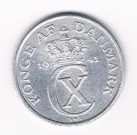 2 ORE 1941 DENEMARKEN /2052/ - Danemark