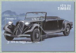 France 2019 - Bloc Citroen Traction Cabriolet  ** (fête Du Timbre) - France