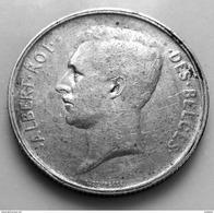 BELGIQUE 2 FRANCS ARGENT ALBERT 1ER 1911   N°310 D E - 1865-1909: Leopold II