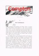 320 E.T.Compton Ötztal Berge Bergsteigen Artikel Mit 4 Bildern 1896 !! - Revues & Journaux