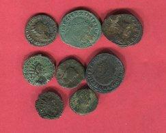 LOT 8 MONNAIES DIFFERENTES B 18 - 4. Other Roman Coins