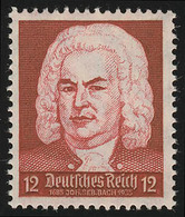574 Komponisten 12 Pf J. S. Bach ** - Ohne Zuordnung