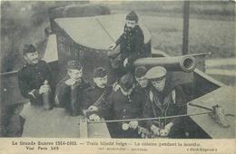 WW1 - TRAIN BLINDÉ BELGE - LA CUISINE PENDANT LA MARCHE #88107 - Guerre 1914-18
