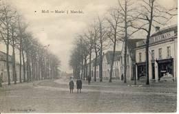 Moll Mol Markt Zeldzaam! Zaak Gebroeders Huysmans Rechts 1915 - Mol