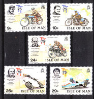 Man - 1982. Campioni Del Motociclismo. Motorcycling Champions. Complete MNH Series - Moto