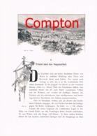 325 E.T.Compton Trient Suganatal Roveredo Artikel Mit 3 Bildern 1896 !! - Revues & Journaux