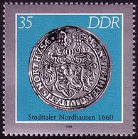 3041 Historische Münzen Städtetaler 35 Pf Nordhausen ** - [6] République Démocratique