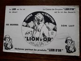 Buvard.Lion D'Or. - Dairy