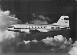 DEUTSCHE LUFTHANSA - MITTELSTRECKENFLUGZEUG ~ AN OLD AIRLINE POSTCARD #87454 - Airplanes