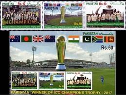 N79- Pakistan 2017 Winner ICC Champions Trophy Cricket. - Pakistan