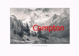 330 E.T.Compton Paul Hey Zillertal Mairhofen Artikel Mit 11 Bildern 1896 !! - Revues & Journaux