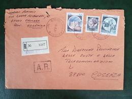 (26284) STORIA POSTALE ITALIA 1981 - 1981-90: Storia Postale