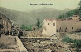 CARTE POSTALE ORIGINALE ANCIENNE : MAZAMET LE FAUBOURG DU GUA  ANIMEE TARN (81) - Mazamet