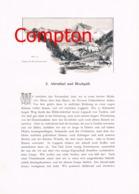 331 E.T.Compton Ahrntal Taufers Hochgall Artikel Mit 3 Bildern 1896 !! - Tijdschriften