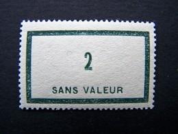 FICTIFS NEUF ** N°F 42 SANS CHARNIERE (FICTIF F42) - Phantom