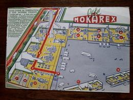 L18/93 Buvard. Café Mokarex - Café & Thé
