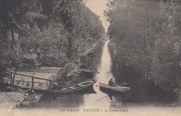 09 - Cazeaux - Côte D'Argent - Beau Plan Animé Du Grand Canal - France