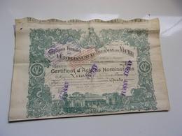 Compagnie Fermière De L'établissement Thermal De Vichy (1920) - Acciones & Títulos