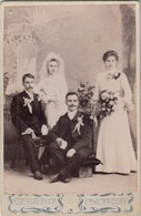 UKRAINE.  #1029  A PHOTO. OFFICE. WEDDING. BRIDE AND GROOM. WITH FRIENDS.  *** - Proyectores De Cine