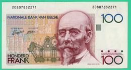 100 Francs - Belgique - N° 20807832271 - TB+ - - [ 2] 1831-... : Regno Del Belgio