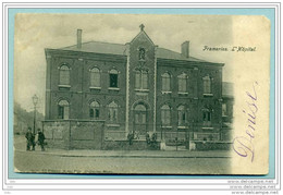 Frameries ' Hôpital ' Voyagé De Wasmes 1906 - Frameries