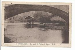 VOUECOURT (52) Une Arche Du Pont De La Marne - Sonstige Gemeinden