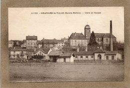 CPA - GRANGES-la-VILLE (70) - Aspect Du Quartier De La Gare Et De L'Usine Dans Les Années 20 - Autres Communes